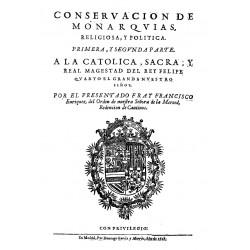 Conservación de monarquías y discursos políticos sobre la gran consulta que el Consejo hizo al rey Felipe III
