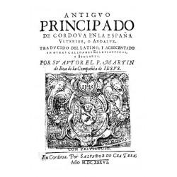 Antiguo principado de Cordova en la España Ulterior Andaluz