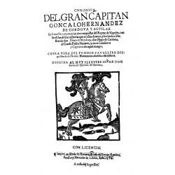 Crónica del gran capitán Gonzalo Fernández de Cordova