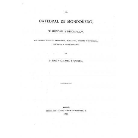 La catedral de Mondoñedo