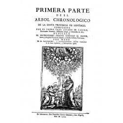 Árbol chronológico de la santa provincia de Santiago