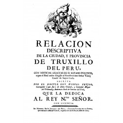 Relación descriptiva de la ciudad y provincia de Truxillo del Perú