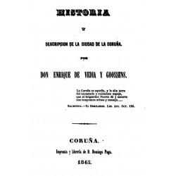 Historia y descripción de la ciudad de La Coruña