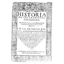 Historia de las grandezas de la ciudad de Ávila