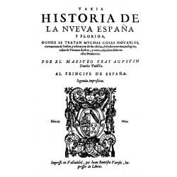 Varia historia de la Nueva España y Florida
