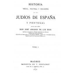 Historia, social, política y religiosa de los judíos en España y Portugal