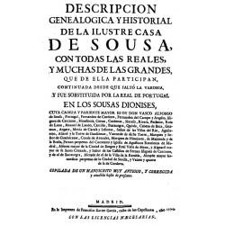 Descripción genealógica y historial de la ilustre casa de Sousa