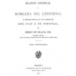 Blasón general y nobleza del universo