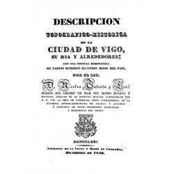 Descripción topográfica-histórica de la ciudad de Vigo, su ría y alrededores