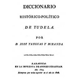 Diccionario histórico político de Tudela