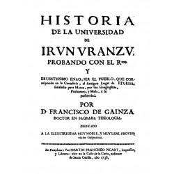 Historia de la universidad de Irún-Uranzu