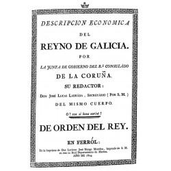 Descripción económica del Reyno de Galicia