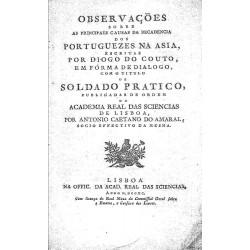 Observaciones sobre as principales causas da decadencia dos portugueses na Asia