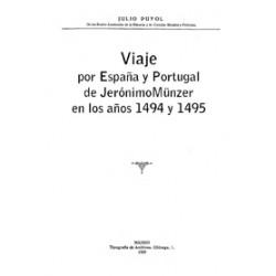 Viaje por España y Portugal de Jerónimo Münzer en los años 1494 y 1495